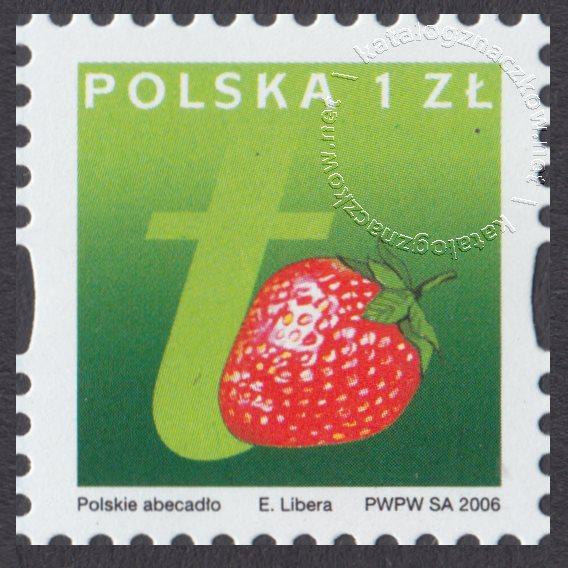 Polskie Abecadło znaczek nr 4139