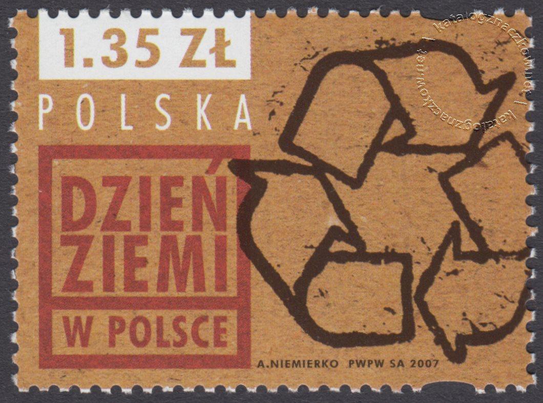 Dzień Ziemi w Polsce znaczek nr 4157