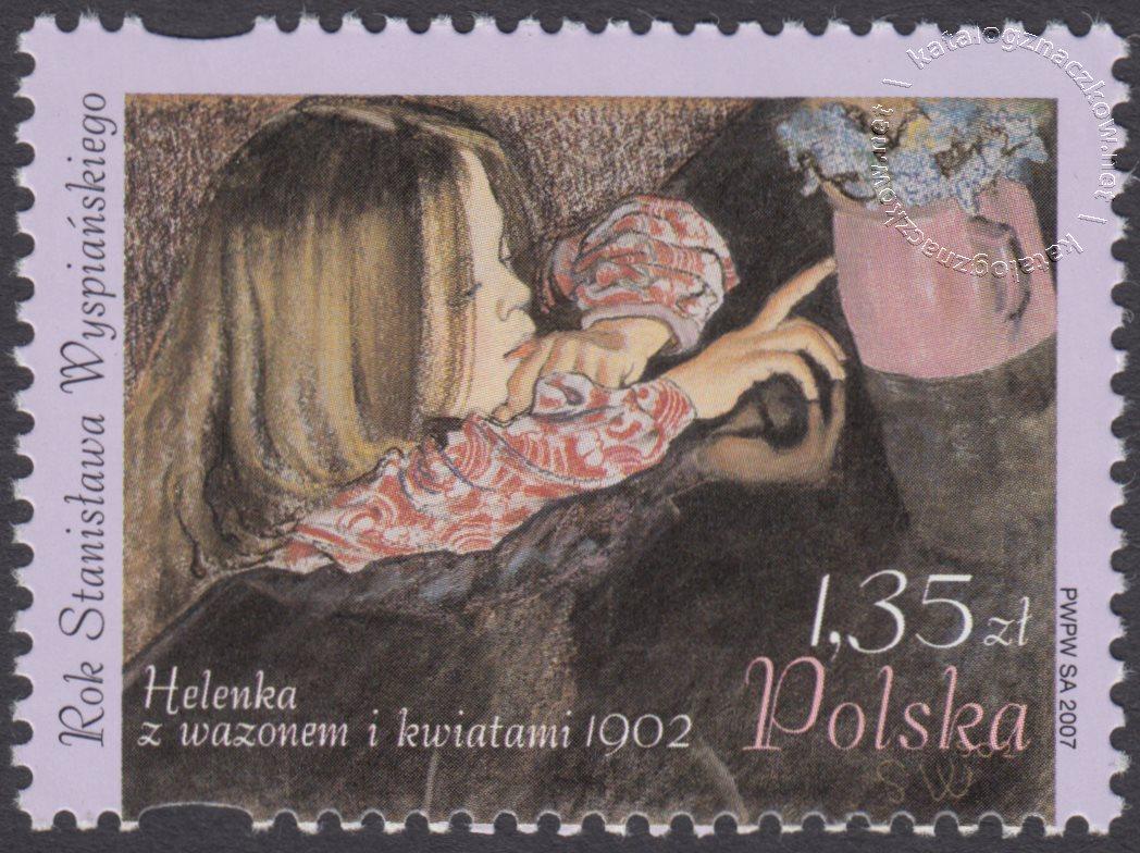 Rok Stanisława Wyspiańskiego znaczek nr 4163