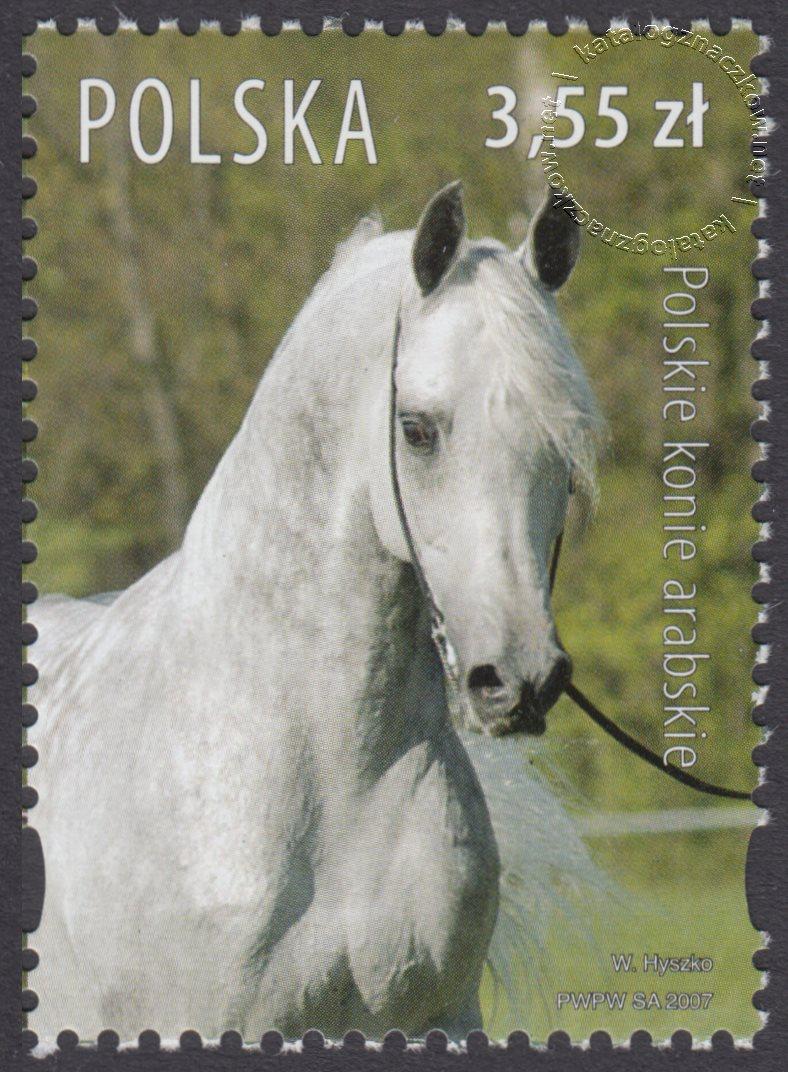 Polskie konie arabskie znaczek nr 4176