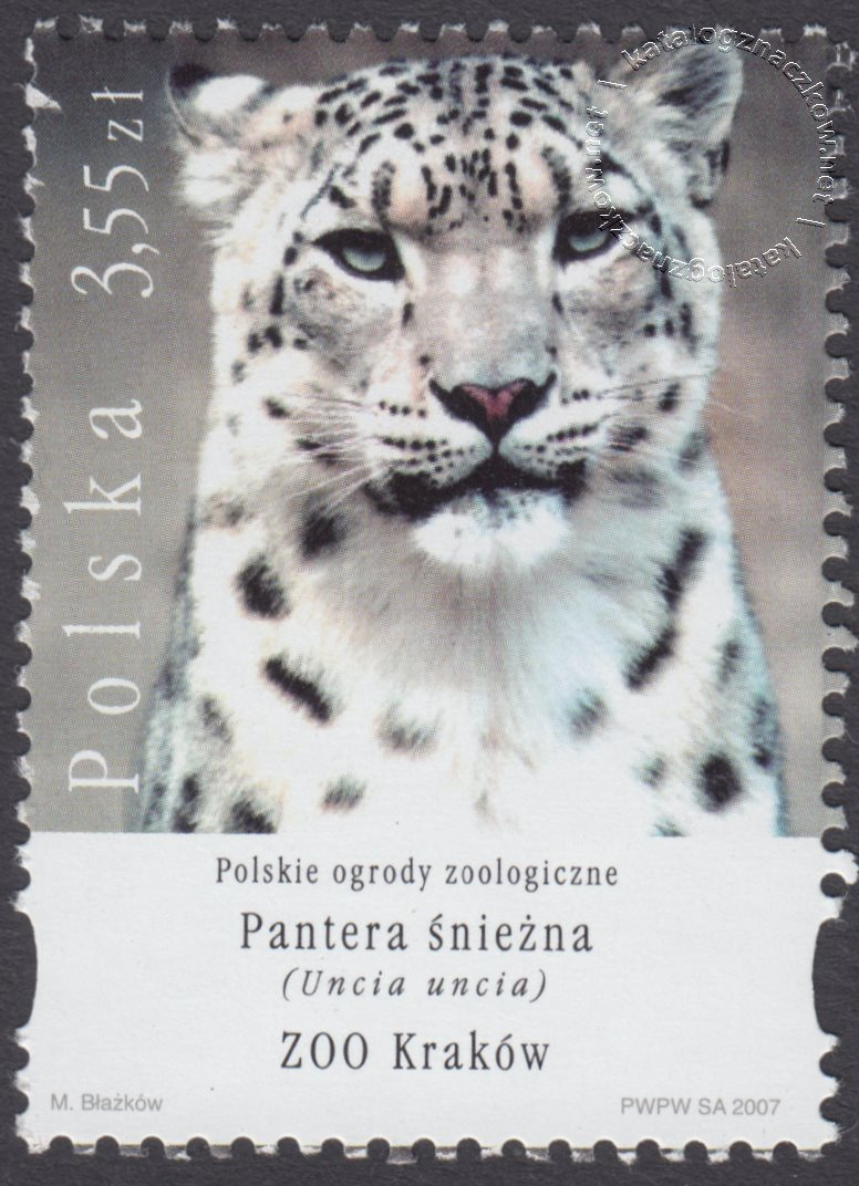 Polskie ogrody zoologiczne znaczek nr 4180