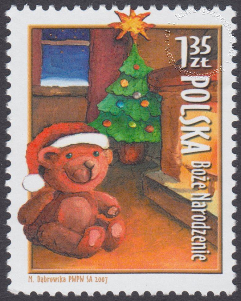 Boże Narodzenie znaczek nr 4191