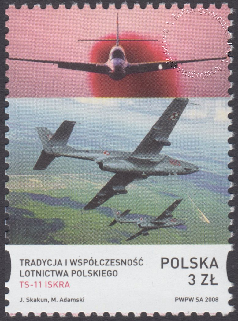 Tradycja i współczesność lotnictwa polskiego znaczek nr 4203