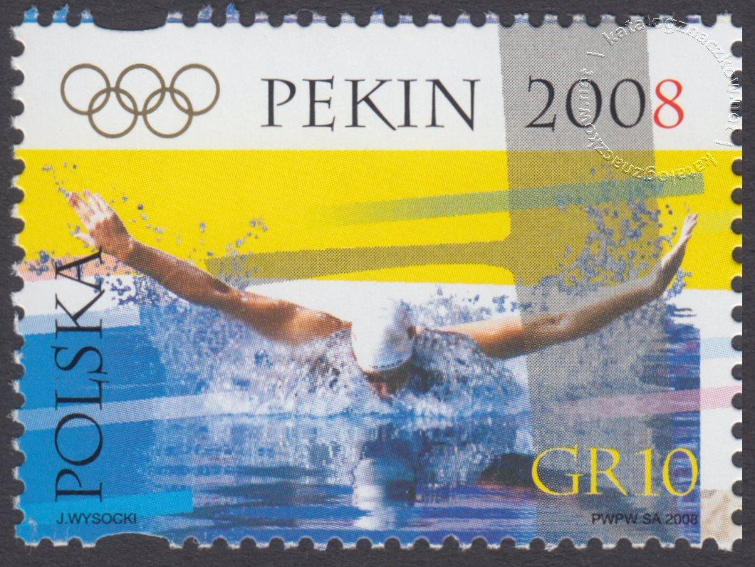 Igrzyska XXIX Olimpiady, Pekin 2008 znaczek nr 4218