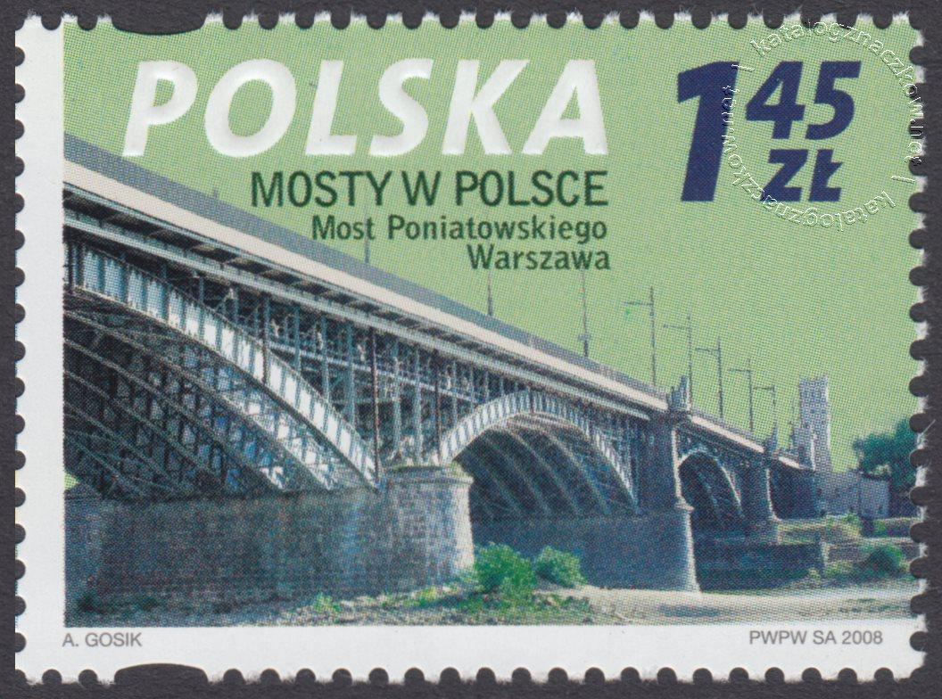 Mosty w Polsce znaczek nr 4224