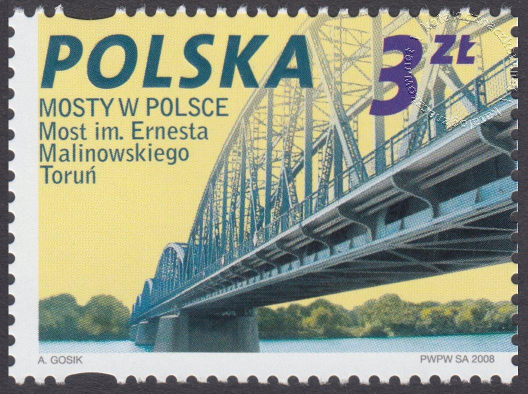 Mosty w Polsce znaczek nr 4226