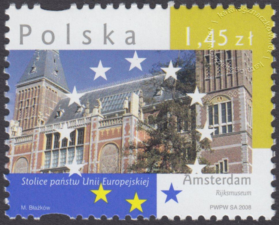 Stolice Państw Unii Europejskiej znaczek nr 4243