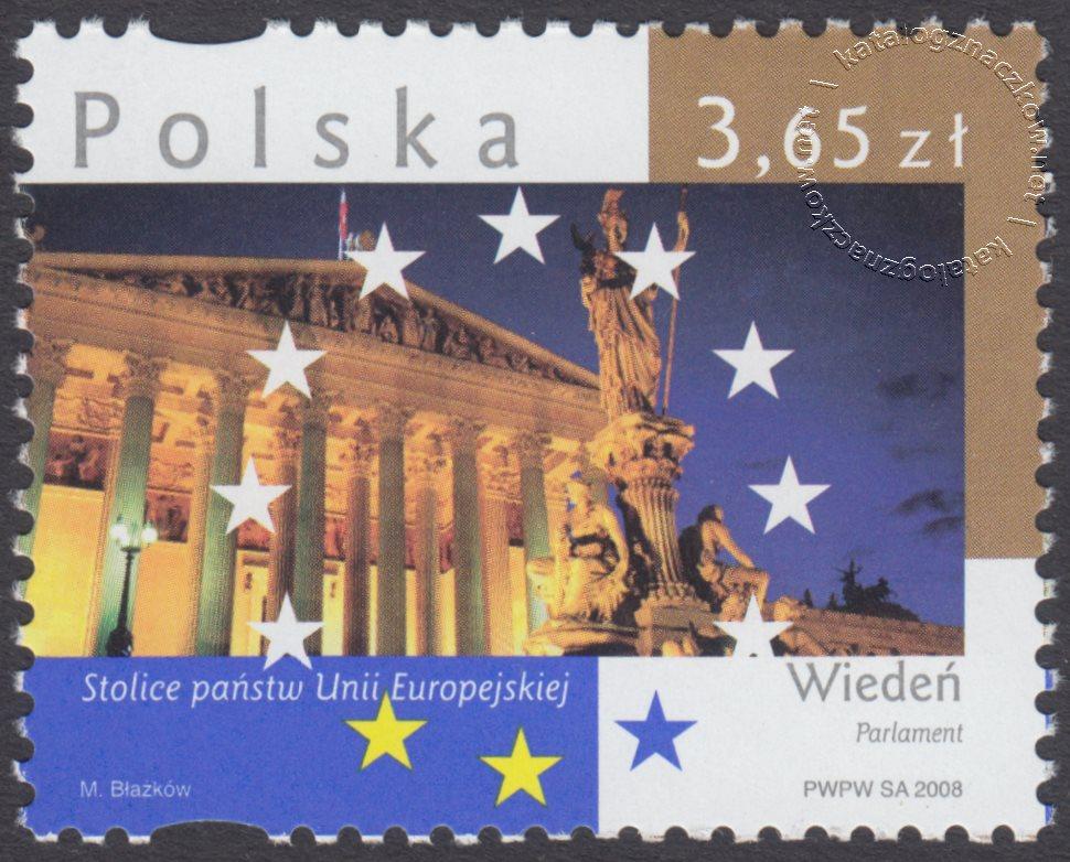 Stolice Państw Unii Europejskiej znaczek nr 4247