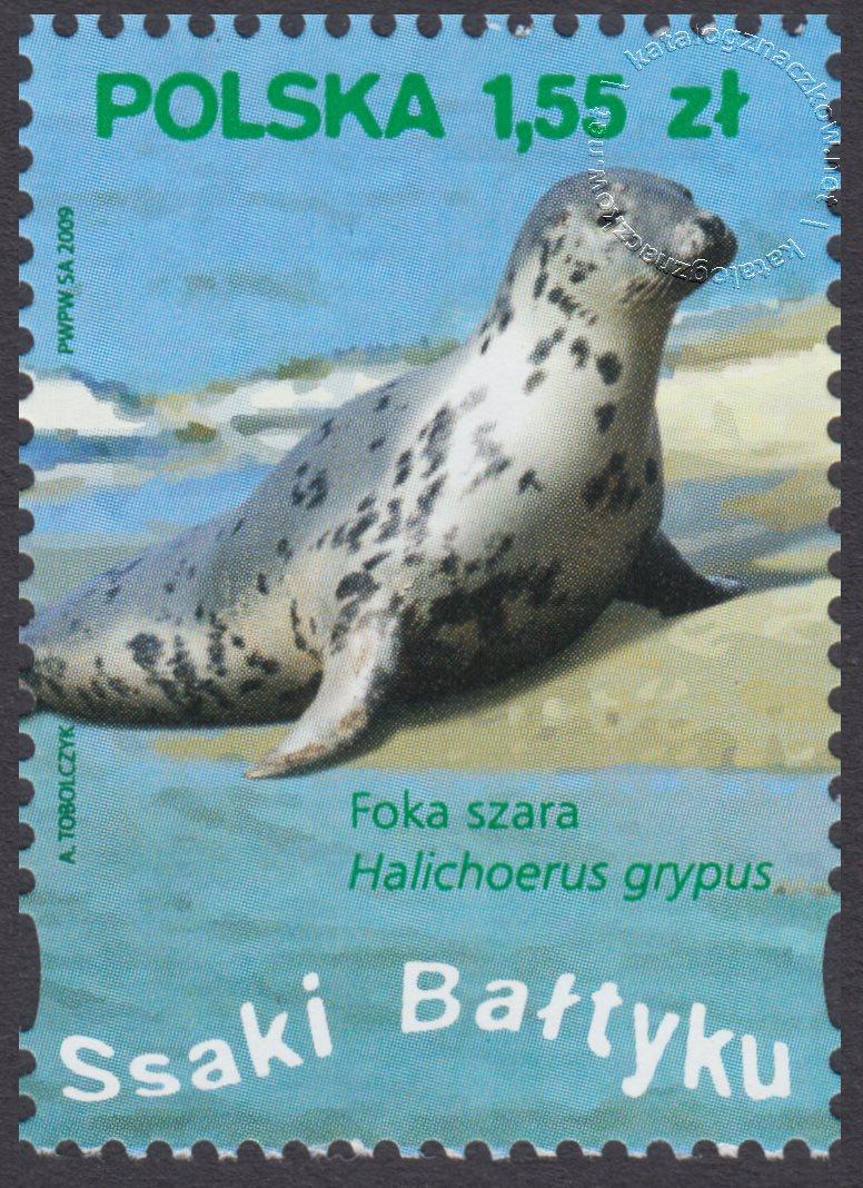 Ssaki Bałtyku znaczek nr 4284