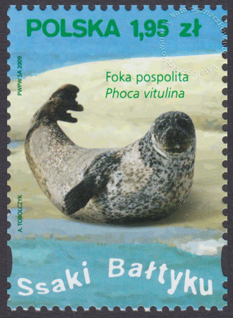 Ssaki Bałtyku znaczek nr 4285