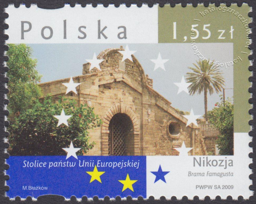 Stolice Państw Unii Europejskiej znaczek nr 4301