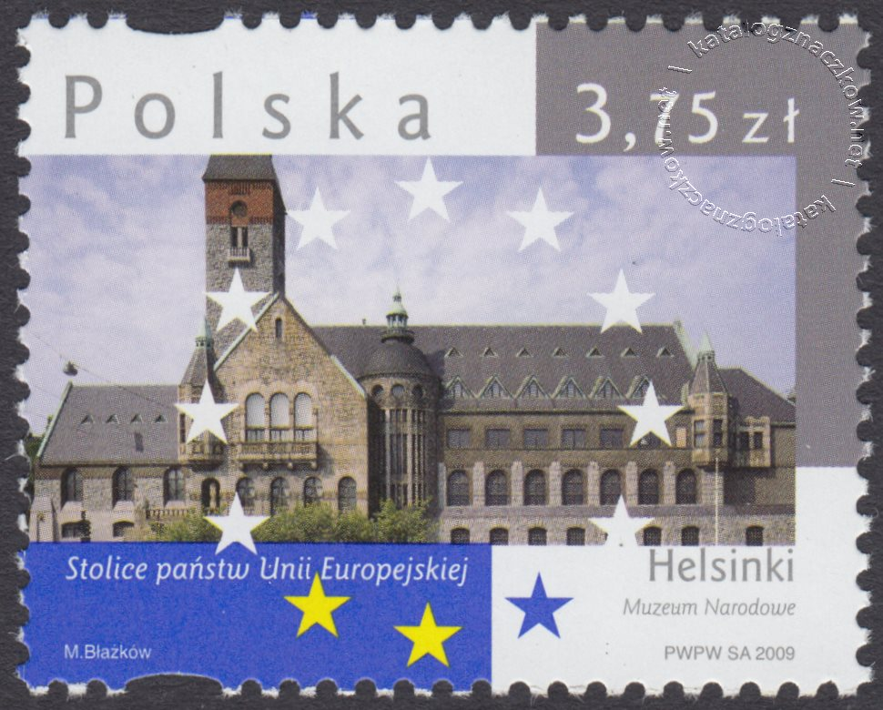 Stolice Państw Unii Europejskiej znaczek nr 4304