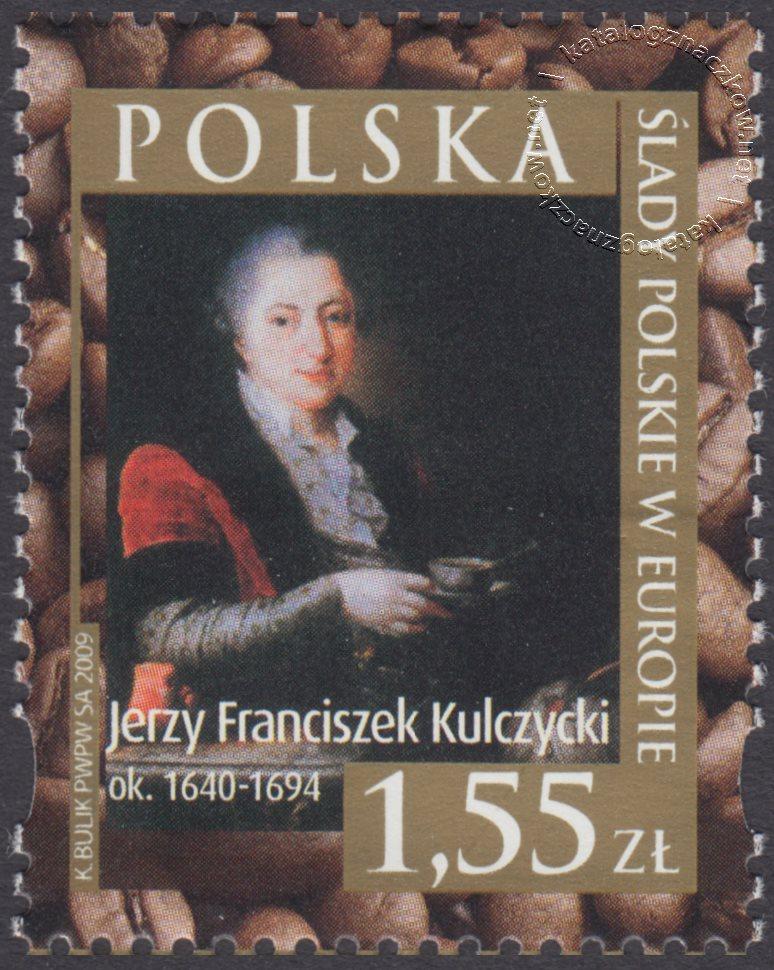 100 rocznica urodzin Pawła Jasienicy znaczek nr 4308