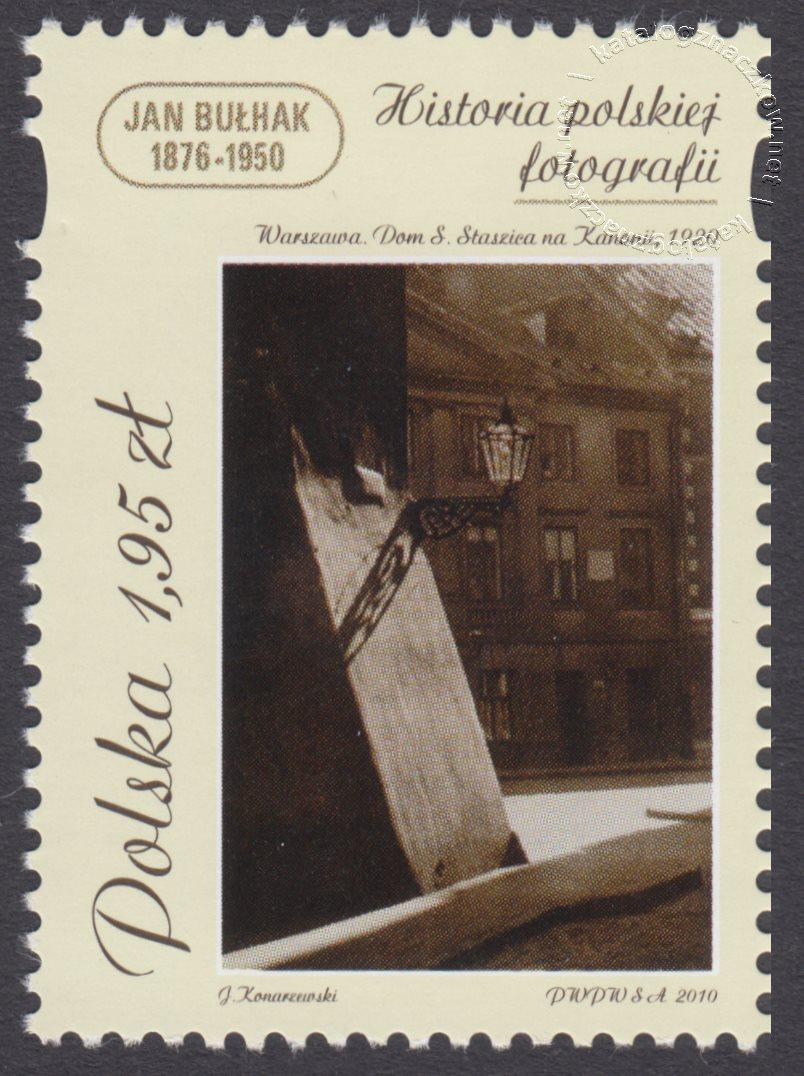 Historia polskiej fotografii znaczek nr 4326