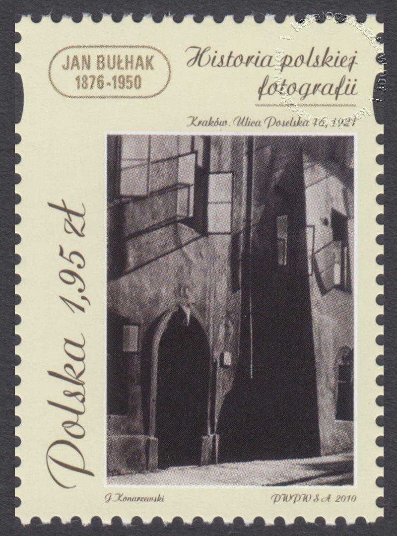 Historia polskiej fotografii znaczek nr 4327