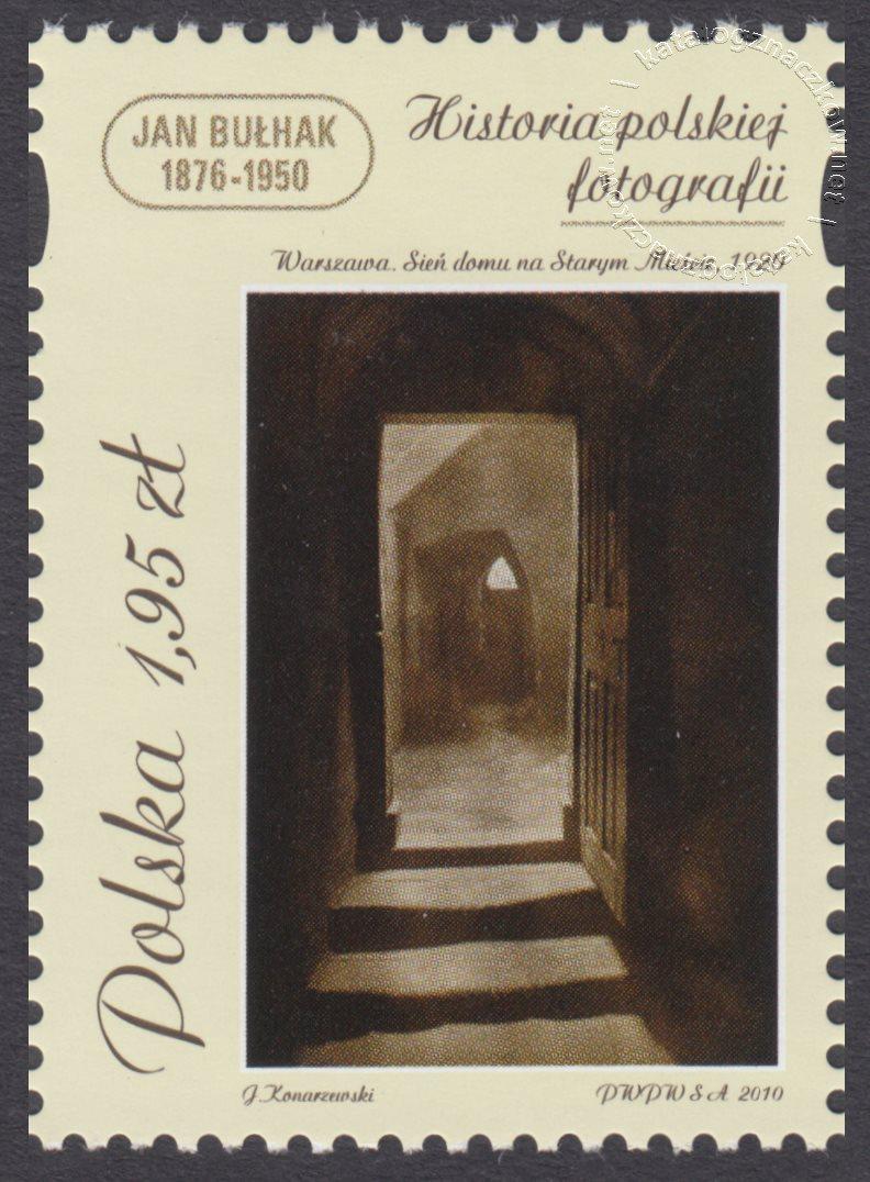 Historia polskiej fotografii znaczek nr 4328