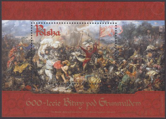 600-lecie Bitwy pod Grunwaldem - Blok 159