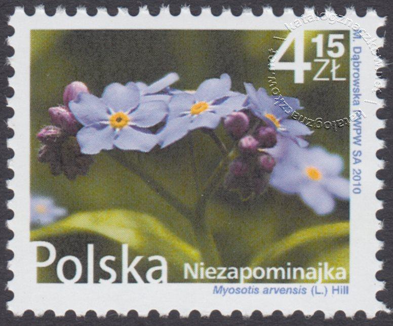 Kwiaty i owoce znaczek nr 4339