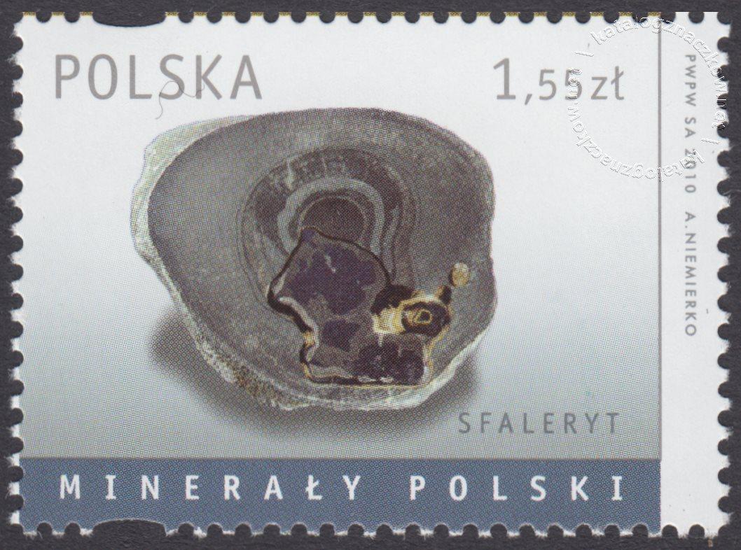 Minerały Polski znaczek nr 4342