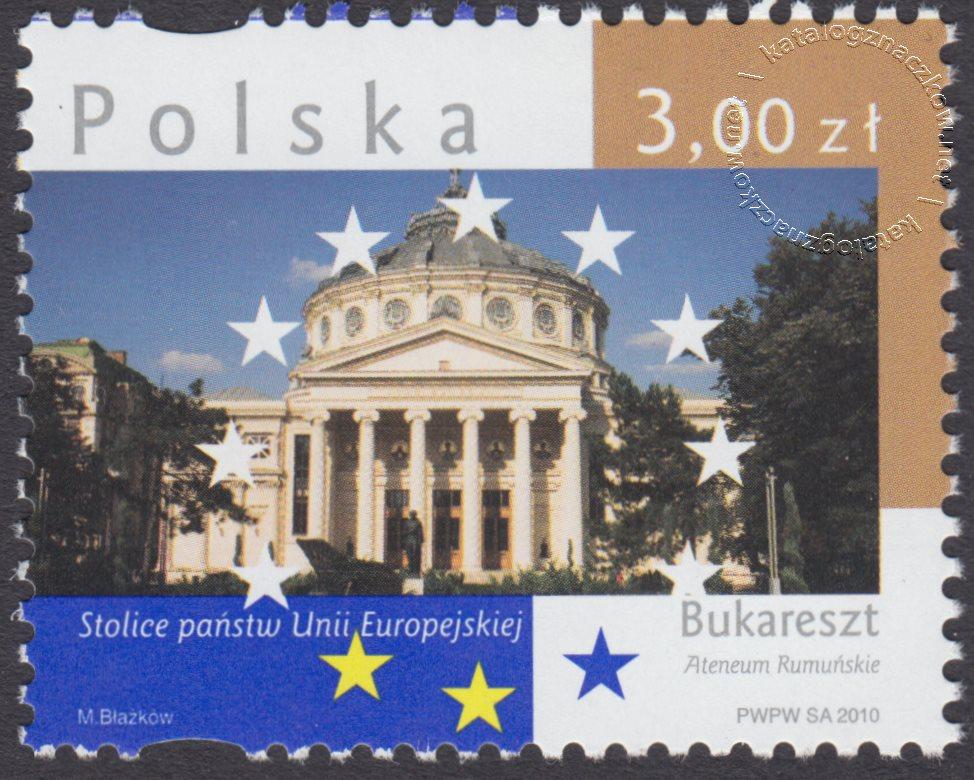 Stolice Państw Unii Europejskiej znaczek nr 4348