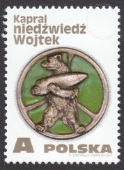 Kapral niedźwiedź Wojtek - 4803