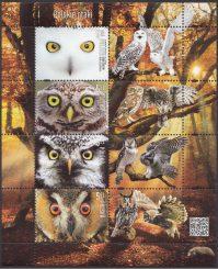 Polskie ptaki - ark. 4812-4815