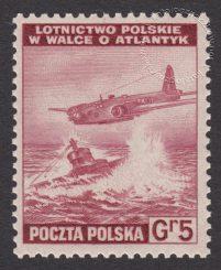 Polskie siły zbrojne w walce z Niemcami - znaczek nr I338