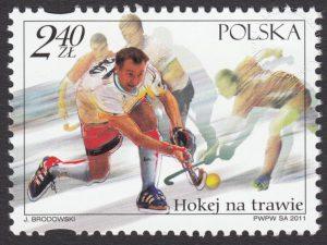Hokej na trawie - znaczek nr 4356