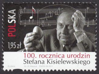 100 rocznica urodzin Stefana Kisielewskiego - znaczek nr 4360