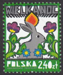 Wielkanoc - znaczek nr 4362
