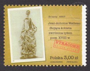 Utracone dzieła sztuki - znaczek nr 4388