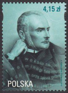 200 rocznica urodzin Zygmunta Krasińskiego - znaczek nr 4399