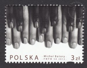 Twórczość Michała Batorego - znaczek nr 4416