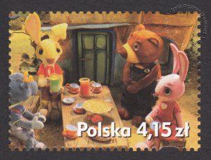 Polski film animowany - znaczek nr 4417