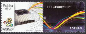UEFA EURO 2012 - znaczek nr 4418