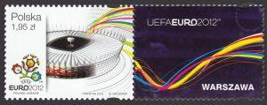 UEFA EURO 2012 - znaczek nr 4419