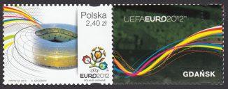 UEFA EURO 2012 - znaczek nr 4420