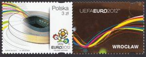 UEFA EURO 2012 - znaczek nr 4421