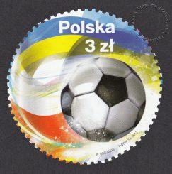 UEFA EURO 2012 - znaczek nr 4422