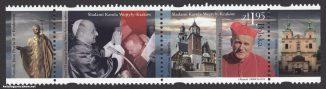 Śladami Karola Wojtyły - Kraków - znaczek nr 4436