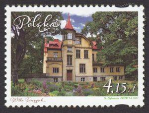 Miasta - Ogrody w Polsce - znaczek nr 4440
