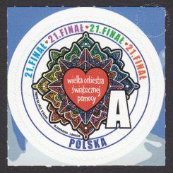 21 Finał Wielkiej Orkiestry Świątecznej Pomocy - znaczek nr 4444