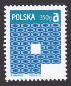 Znaczek obiegowy priorytetowy - 350 g A - P - znaczek nr 4446