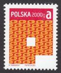 Znaczek obiegowy priorytetowy - 2000 g A - P - znaczek nr 4464