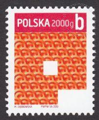Znaczek obiegowy priorytetowy - 2000 g B - P - znaczek nr 4466