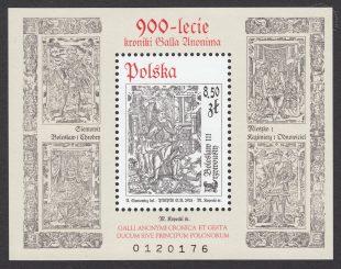 900-lecie kroniki Galla Anonima - Blok 173