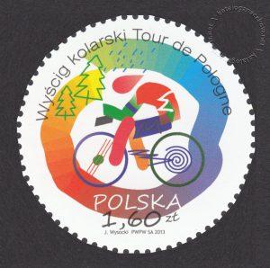 Wyścig kolarski Tour do Pologne - znaczek nr 4469
