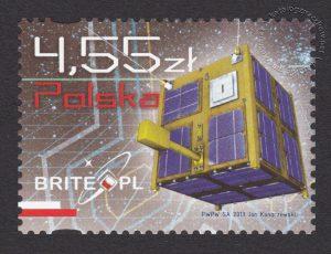 Drugi polski satelita naukowy - znaczek nr 4471