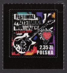 Festiwal Przystanek Woodstock - znaczek nr 4472