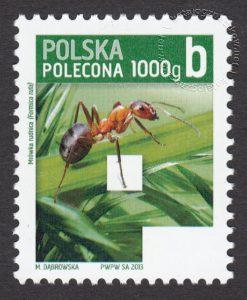Znaczek obiegowy priorytetowy - 1000 g B - P - znaczek nr 4490